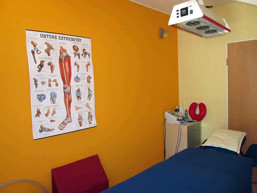 Manu's Physio-Service – Behandlungszimmer 2
